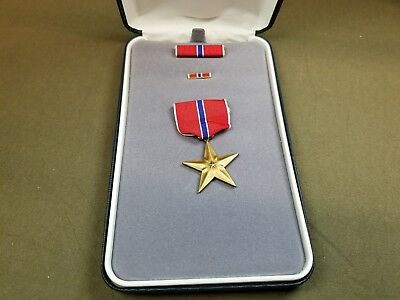 Bronze Star Medal With Box Vintage