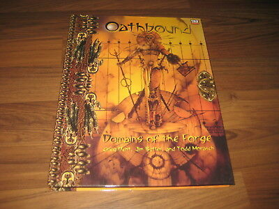 d20 Oathbound Domains of the Forge Campaign Setting HC 2002 Bastion Press TOP