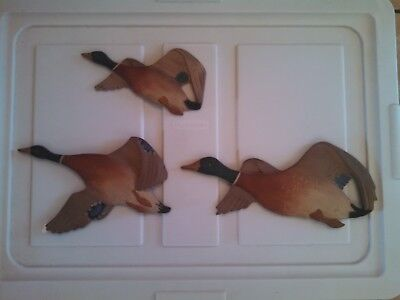 Antique Duck Wall Art- hand carved wood