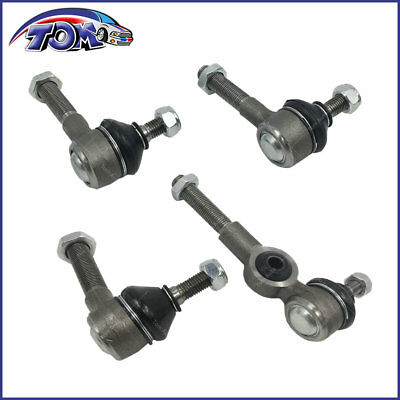 Brand New Tie Rod End Kit Inner & Outer For Vw Volkswagen Beetle Bug Ghia 68-79