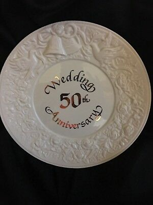 Russ 50th Wedding Anniversary Plate