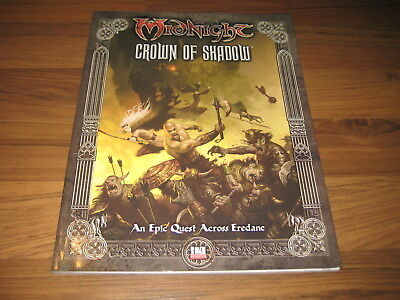 Midnight Crown Of Shadow Adventure FFG Fantasy Flight Games 2003 MN03 VG