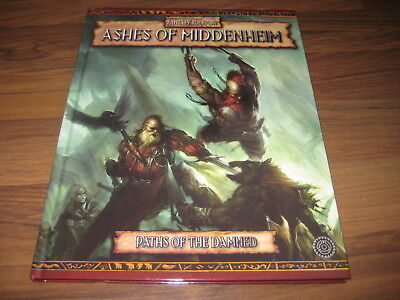 Warhammer Fantasy Roleplay Ashes Of Middenheim Paths Of The Damned HC 2005 TOP