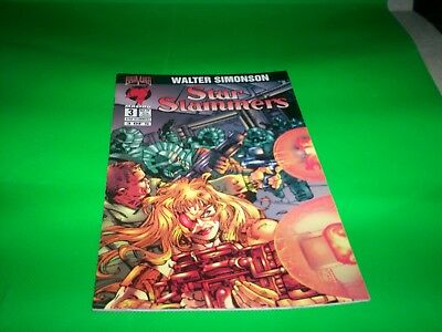 Malibu Comics Star Slammers 3 0F 5   Highly  Collectible T  1994  Great Reading