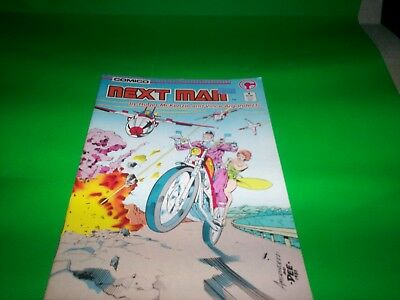 Vtg 80's Comico  Next Man Highly  Collectible A Little Protection Doesn't Hurt