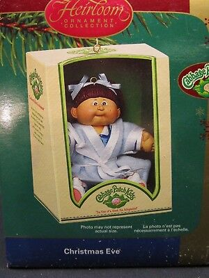 """Carlton Cards Cabbage Patch Kids Christmas Ornament """"Christmas Eve"""""""