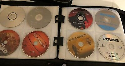 PRICE REDUCED!! Lot of DVDs: 100 Movies + Comedy + Boxing + DVD Games