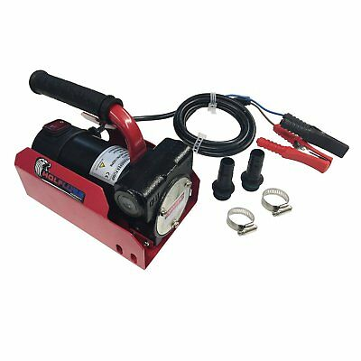 Wolflube DC Diesel Kit 12V - 10 GPM - Inlet 3/4in Outlet 3/4in