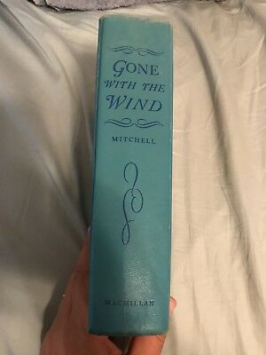 GONE WITH THE WIND by MARGARET MITCHELL 1936 1ST EDITION MacMillan Hardcover