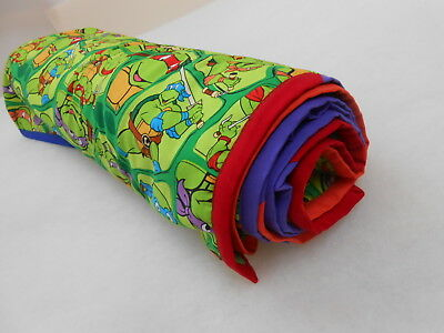 Teenage Mutant Ninja Turtles Blanket  Large Size 100cm x 128cm