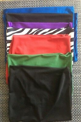 Stretchable Fabric Book Covers Lot Of 8