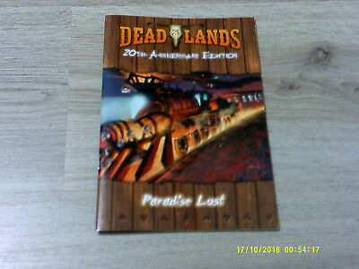 Deadlands Classic Paradise Lost Adventures Softcover Pinnacle Neu