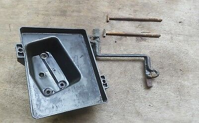 OEM Battery Hold down Bracket Tray for 87 - 95 Jeep Cherokee XJ Sport Factory