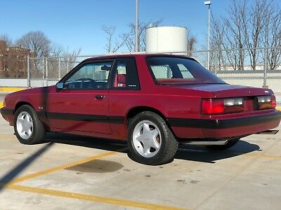 1989 Ford Mustang 5.0 LX Notchback Coupe 1989 Ford Mustang LX Coupe Notchback - 25th Anniversary Edition