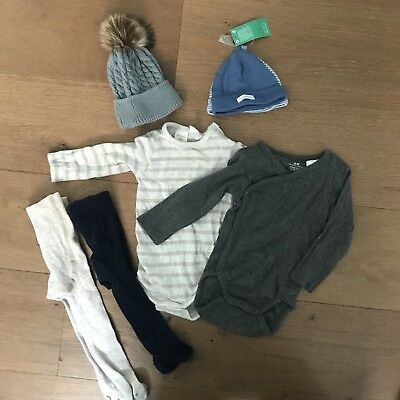 Baby Boys Winter 3-6 Months Bundle - Seed, H&M (Mostly Brand New)