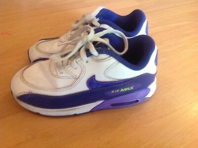Girls jr NIKE AIR MAX shoes, SIZE US 10c EUC, p/up PROSPECT, SA