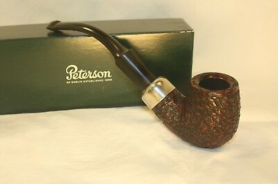 Peterson Standard System 307 Rustic Unsmoked Tobacco Pipe