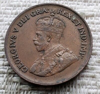 Canada 1928 One Cent Coin (Better Grade)