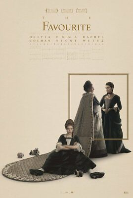 THE FAVOURITE (2018) D/S Orig Movie Poster 2-Sided 27x40 NEW Stone Weisz Colman