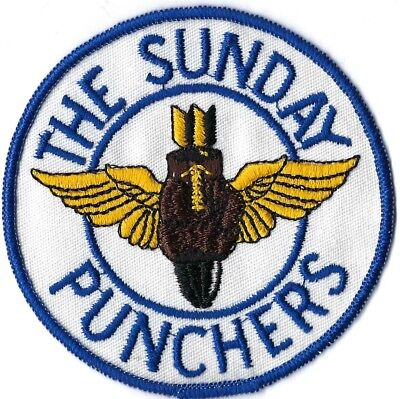 Us Navy Attack Squadron Va-75 The Sunday Punchers Patch