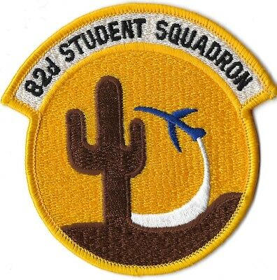 USAF 82nd STUDENT SQUADRON PATCH