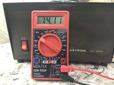 Astron RS-20A 13.8 VDC Power Supply for Ham Radio Operations