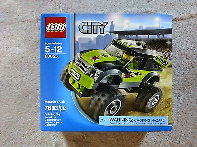 Lego City Monster Truck 60055 Complete W Instructions 650