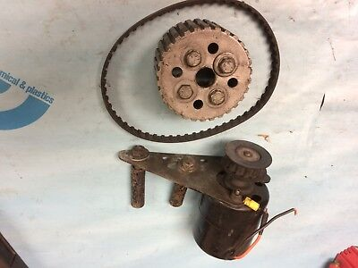 Moroso Electric Water Pump Motor Drive And Pulley With Bracket