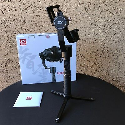 Zhiyun Crane Plus 3-axis Handheld Gimbal Stabilizer with 5.5lb Payload
