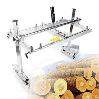 """Portable Chainsaw mill 24"""" Inch Planking Milling Bar Size 14"""" to 24"""" US Stock"""
