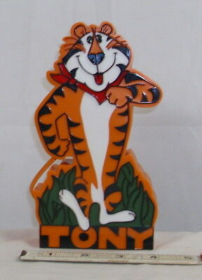 TONY THE TIGER NOVELTY SHAPED TRANSISTOR RADIO WORKS 1970s