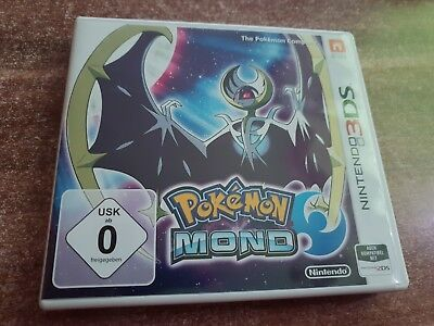 Pokemon mond 3ds hülle