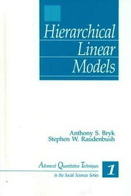 Hierarchical Linear Models - by Raudenbush
