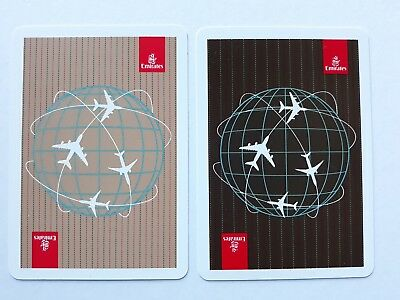 playing cards swap. 1 x PR Emirates Airlines Cards . Globe with with planes