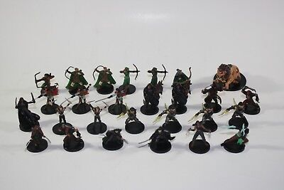 Dungeons & Dragons D&D Miniatures DDM lot of 27 Archer & Rogue Heroes (C, UC)