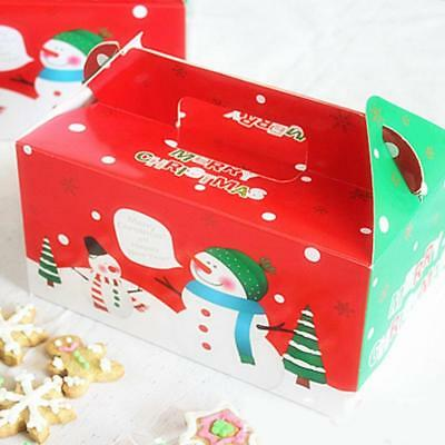 Large Personalised Christmas Eve Gift Box Xmas Favour DIY Present Snow