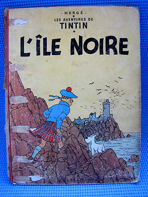 Herge Adventures Of Tintin L'ile Noire The Black Island Casterman 1947 French