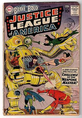 DC Comics VG+ BRAVE & AND THE BOLD 2nd app JUSTICE LEAGUE AMERICA  #29 Superman