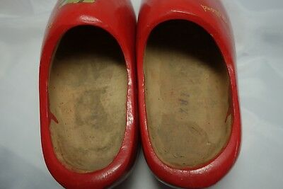 Wooden Shoes from Holland, Wood Hand Carved