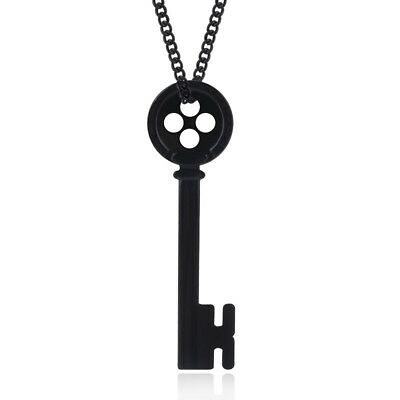 CORALINE KEY NECKLACE Skeleton Props Neil Gaiman Coraline & The Secret Door