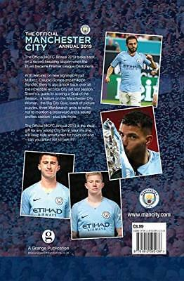 Official Manchester City FC Annual 2019 by David Clayton New Hardback Book