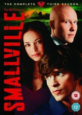 Smallville Complete 3rd Season Dvd Brand New & Factory Sealed