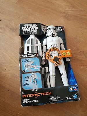 Large Star Wars Rogue One Interactech Imperial Stormtrooper ( Brand new )