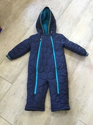 Ted Baker, boys warm snow suit age 12-18 months