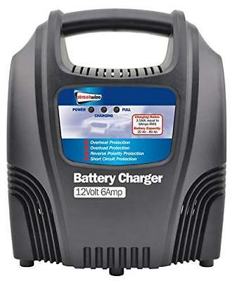 Streetwize SWCBC6 12v 6Amp Compact Plastic Cased Battery Charger