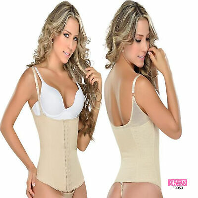 Fajas Colombianas M/&D Post Surgery Shorts Powernet Shaper Tummy Control HighRise