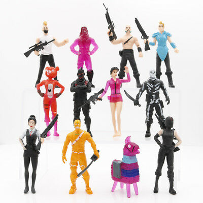 12pcs Fortnite Battle Royale Llam Save The World Action Figuren Kid Toy Gift Hot