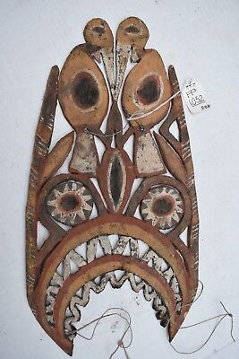 museum quality PAPUA NEW GUINEA ABELAM HEADPIECE 12in 1900S Barnes EST