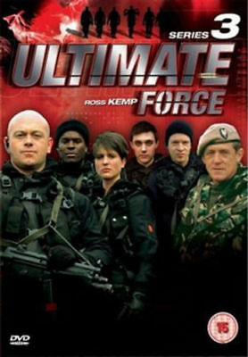 Ultimate Force Complete 3rd Series Dvd Ross Kemp Brand New & Factory Sealed