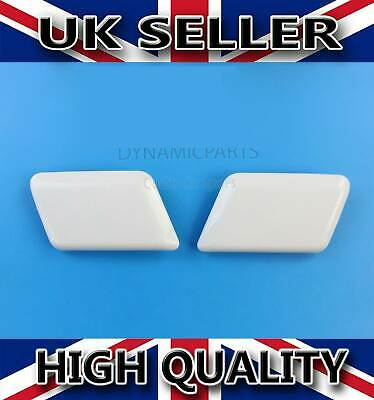 Ford Mondeo Mk3 Headlamp Light Washer Jet Cap Covers Set Right + Left (00-07)
